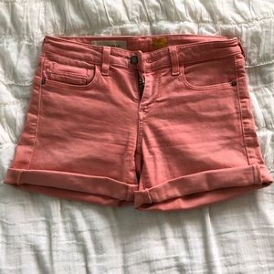 Anthropologie Coral Shorts